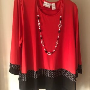 BNWT ALFRED DUNNER BLOUSE